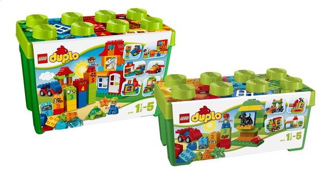 Afbeelding van LEGO DUPLO 10572 Alles in één groene doos + 10580 Deluxe bouwdoos from ColliShop