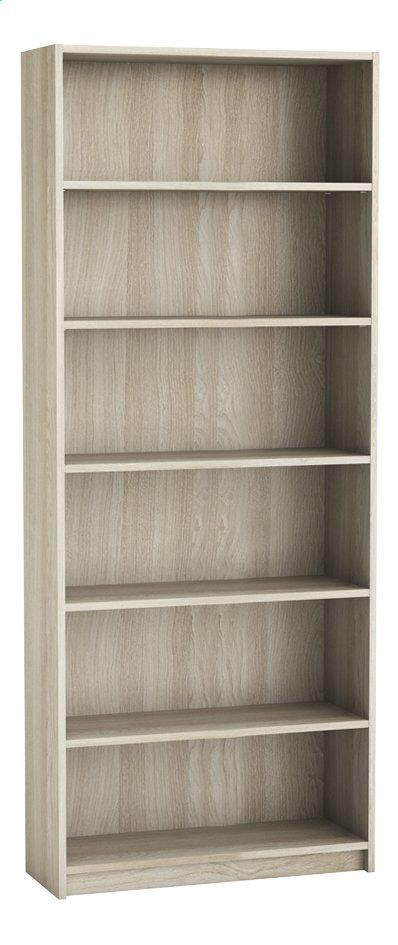 Image pour Demeyere Meubles Bibliothèque Optima décor chêne Lg 80,2 x H 198 cm à partir de ColliShop