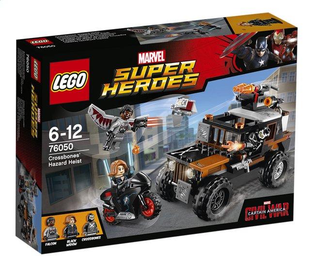 Image pour LEGO Super Heroes 76050 L'attaque toxique de Crossbones à partir de ColliShop
