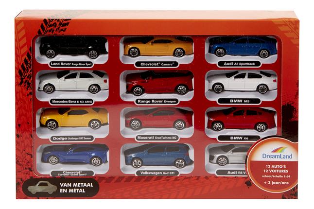 Afbeelding van DreamLand 12 auto's from ColliShop