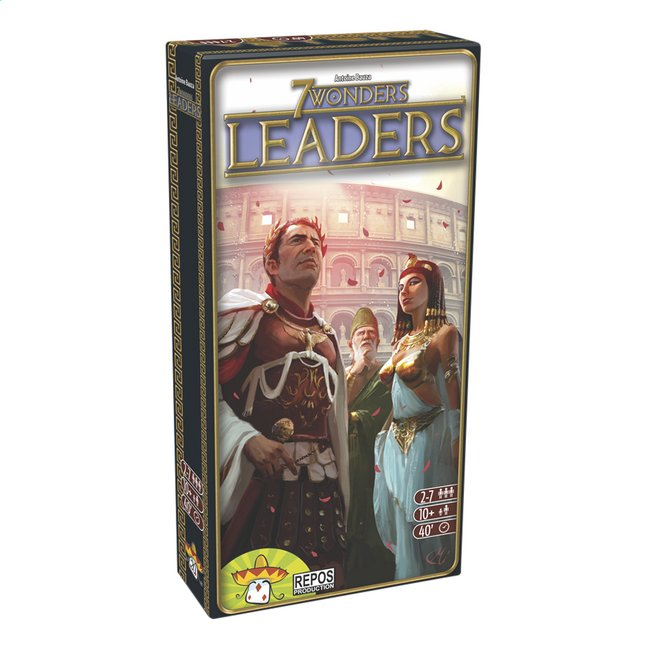 Afbeelding van 7 Wonders uitbreiding: Leaders ENG/FR from ColliShop