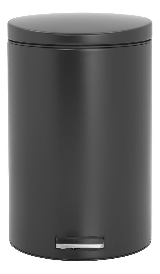 Image pour Brabantia poubelle à pédale 20 l noir mat à partir de ColliShop