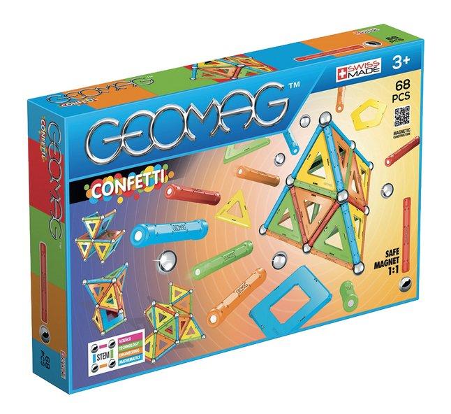Image pour Geomag Confetti 68 pièces à partir de ColliShop