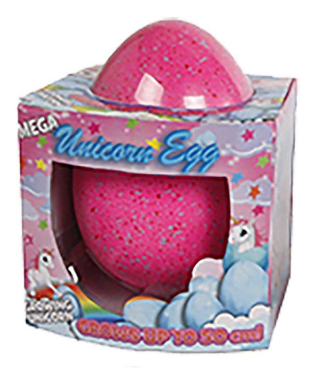 Afbeelding van Mega ei met groeiende unicorn tot 50 cm roze from ColliShop