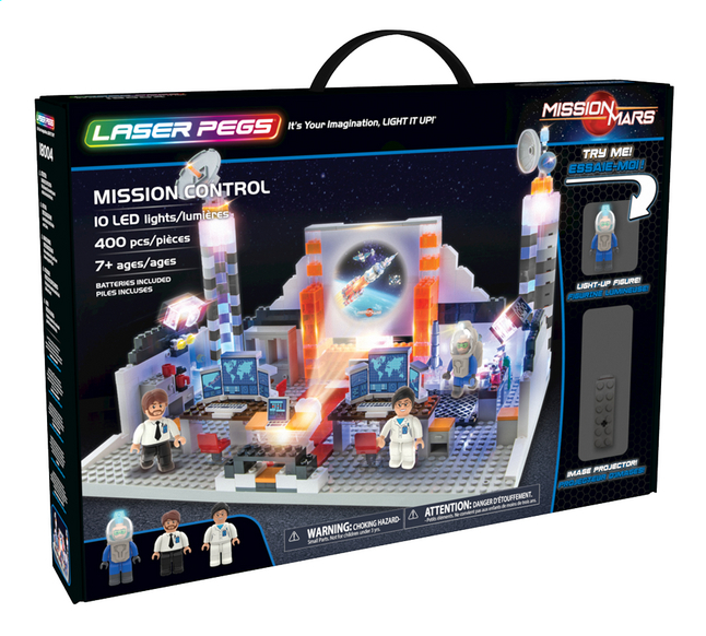 Laser Pegs Mission Mars Control