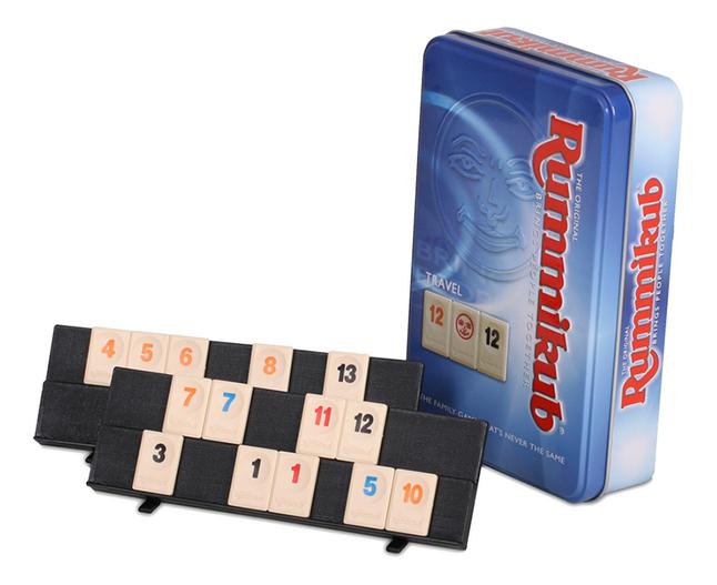 Image pour Rummikub jeu de voyage dans une boîte en étain à partir de ColliShop