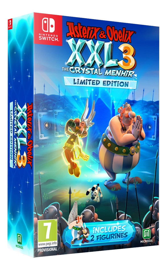 Afbeelding van Nintendo Switch Asterix & Obelix XXL 3 Limited Edition ENG/FR from ColliShop