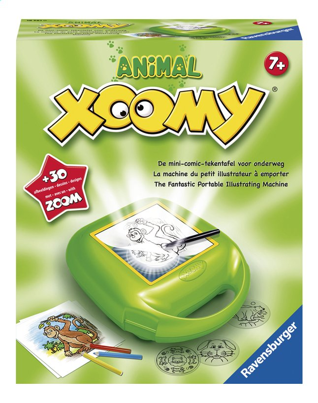Afbeelding van Ravensburger tekenprojector Xoomy Animal from ColliShop