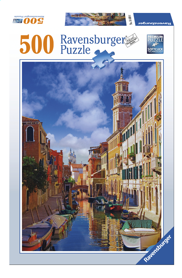 Afbeelding van Ravensburger Puzzel In Venetië from ColliShop