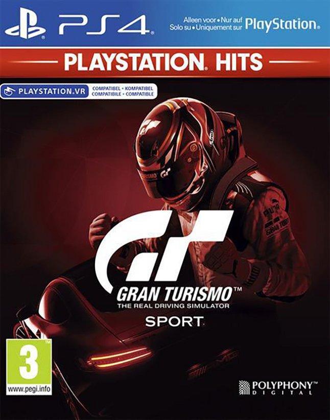 PS4 Gran Turismo Sport Playstation Hits ENG/FR