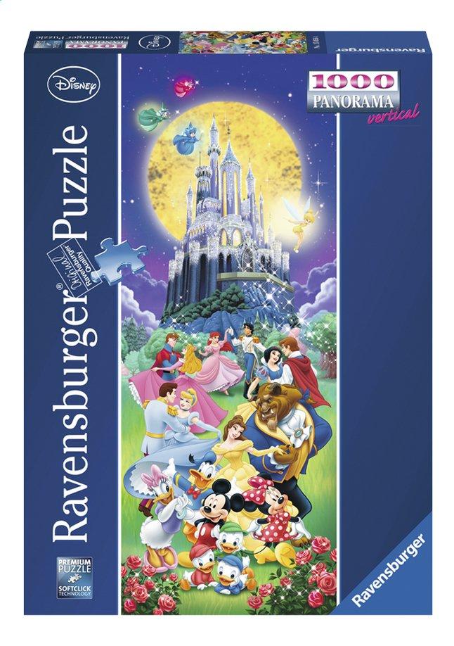 Image pour Ravensburger puzzle panorama Le château de Disney à partir de ColliShop