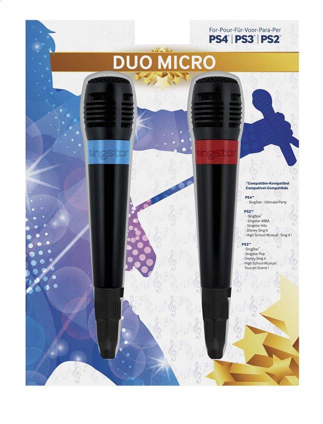 Image pour bigben PS4 Set de 2 micros filaires Singstar à partir de ColliShop