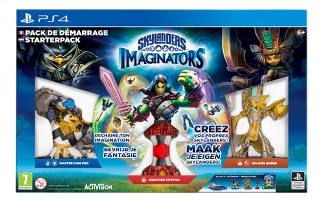 Afbeelding van PS4 Activision Skylanders Imaginators Starterspakket NL/FR from ColliShop