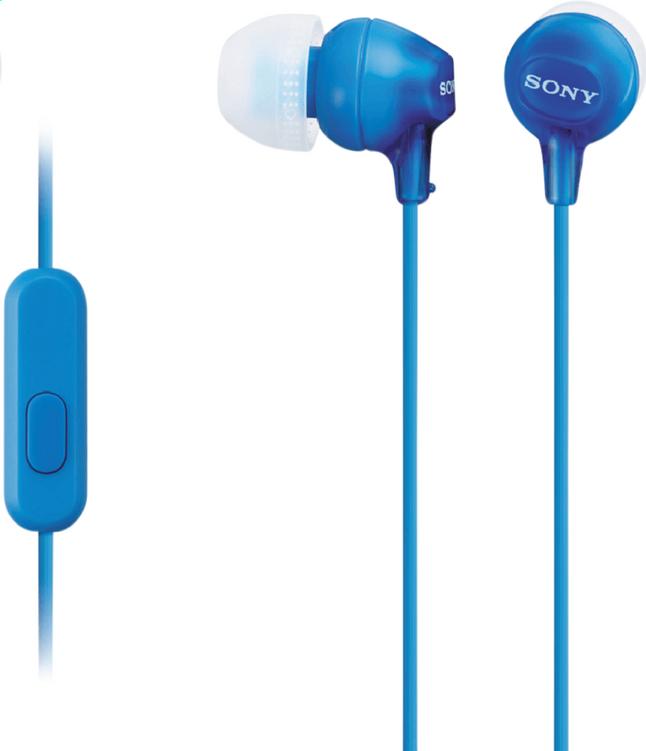 Image pour Sony écouteurs MDR-EX15AP bleu à partir de ColliShop