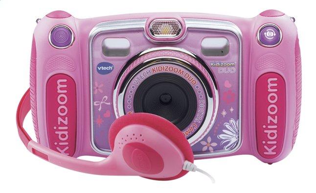 Afbeelding van VTech digitaal fototoestel KidiZoom Duo roze from ColliShop
