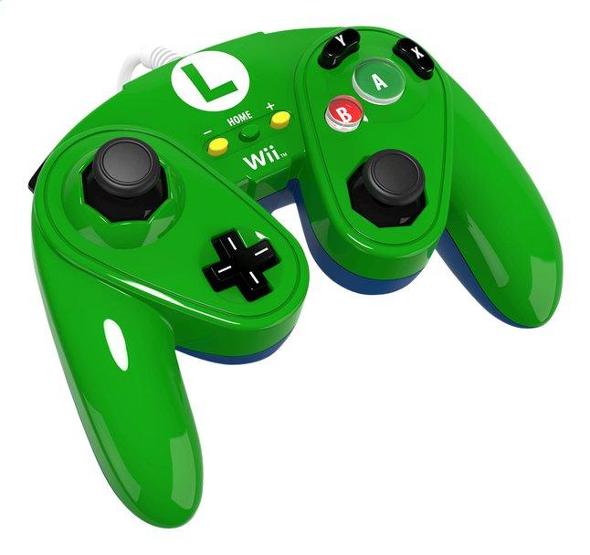 Afbeelding van Controller PDP Luigi Wii U groen from ColliShop