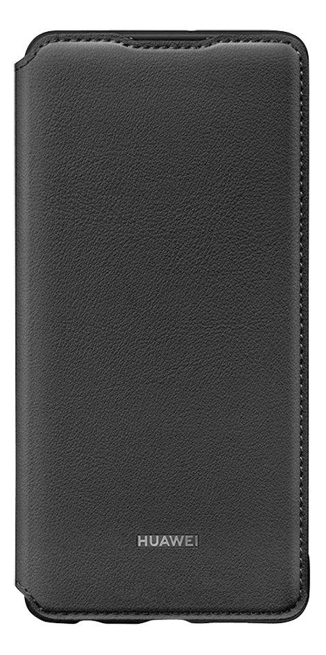 Afbeelding van Huawei flipcover met vak voor kaarten voor Huawei P30 zwart from ColliShop