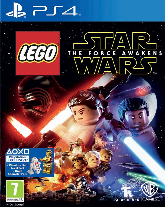 Image pour PS4 LEGO Star Wars: The Force Awakens FR/ANG à partir de ColliShop