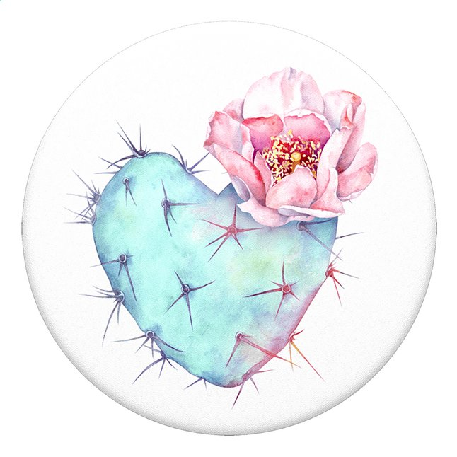 Afbeelding van PopSockets Phone grip Succulent Heart from ColliShop