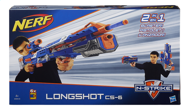 Afbeelding van Nerf blaster Elite N-Strike Long Shot CS-6 from ColliShop