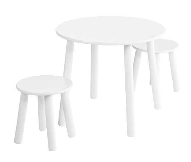 Afbeelding van Tafel met 2 stoelen voor kinderen from ColliShop