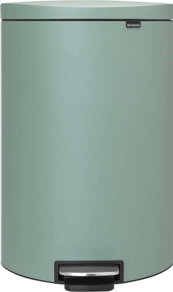 Image pour Brabantia poubelle à pédale FlatBack+ 40 l mint à partir de ColliShop