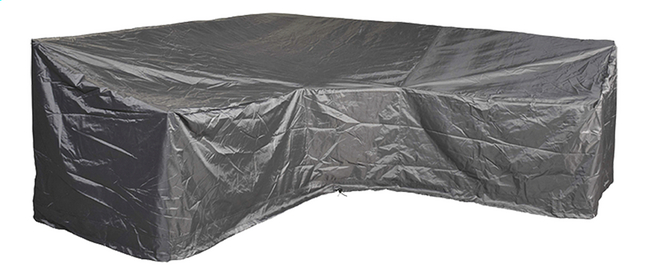 Image pour AeroCover Housse de protection pour ensemble lounge en forme de L trapèze et dossier haut polyester L 255 x Lg 90 x H 90 cm à partir de ColliShop