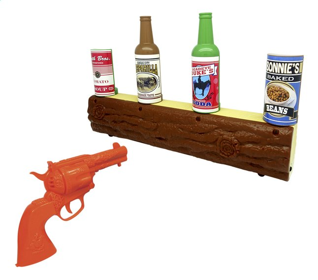 Afbeelding van Wild West Gunslinger Electronic Target Shooting Set from ColliShop