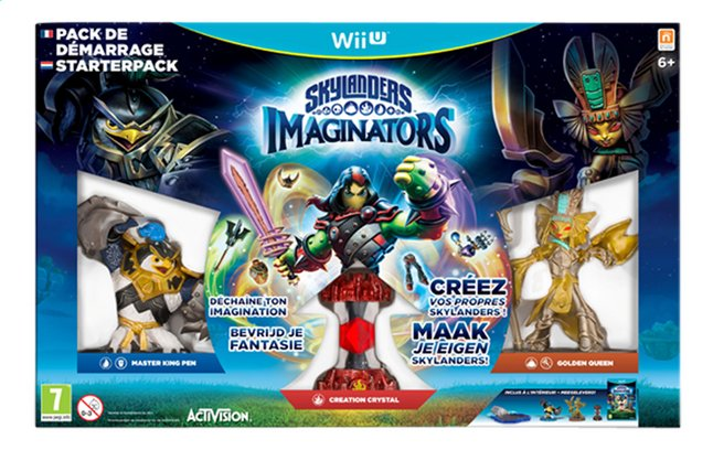 Afbeelding van Wii U Starterspakket Skylanders Imaginators NL/FR from ColliShop