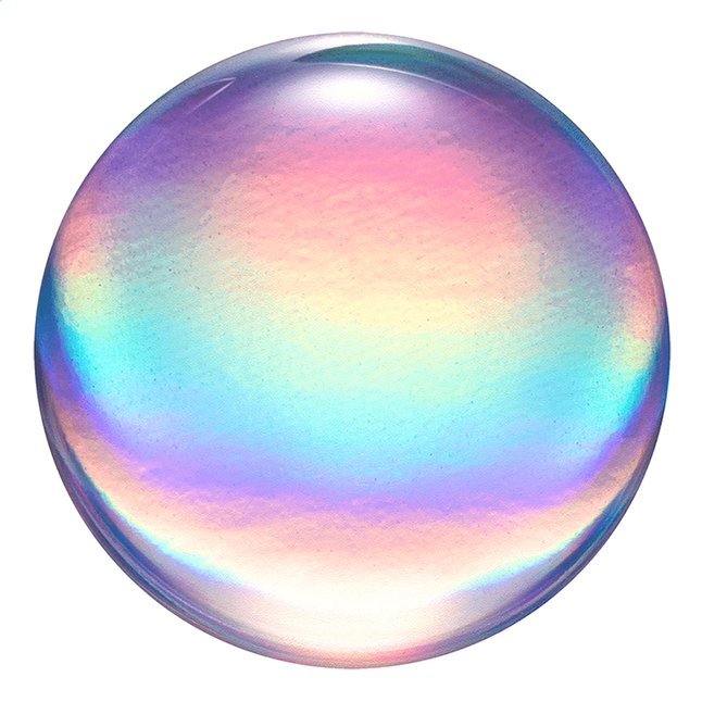 Afbeelding van PopSockets Phone grip Rainbow Orb Gloss from ColliShop