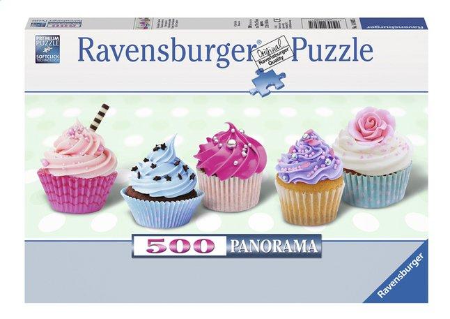 Afbeelding van Ravensburger panoramapuzzel Suikerzoete cupcakes from ColliShop