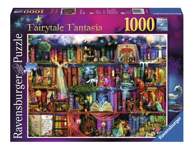 Afbeelding van Ravensburger puzzel Fairytale Fantasia from ColliShop