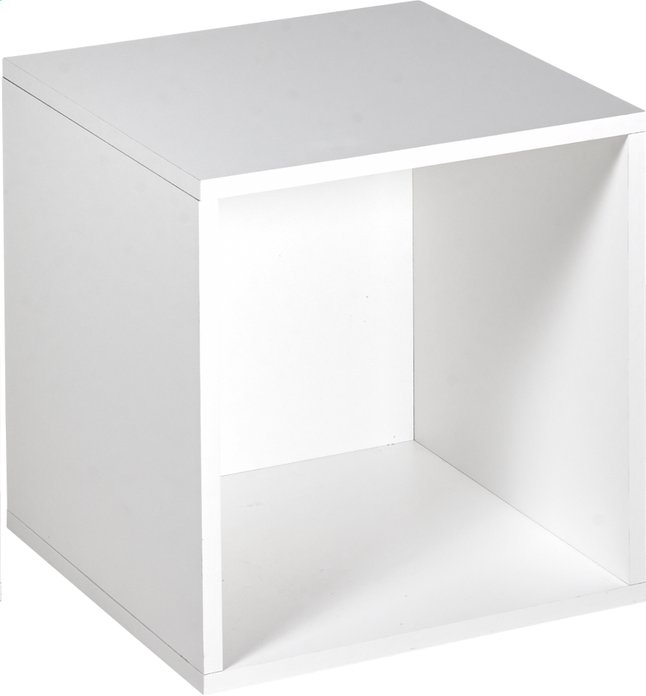 Image pour Cube pour garde-robe Basil blanc à partir de ColliShop