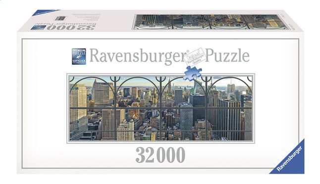 Afbeelding van Ravensburger puzzel New York City window from ColliShop