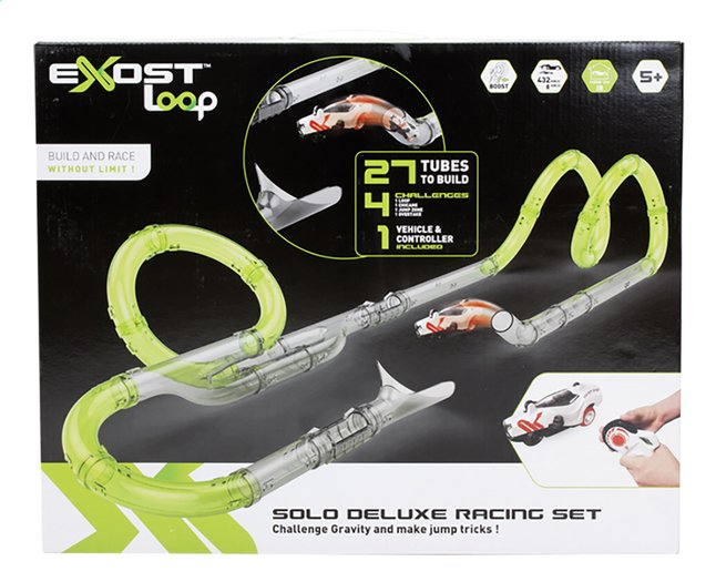 Afbeelding van Exost autobaan Loop Solo Deluxe Racing Set from ColliShop