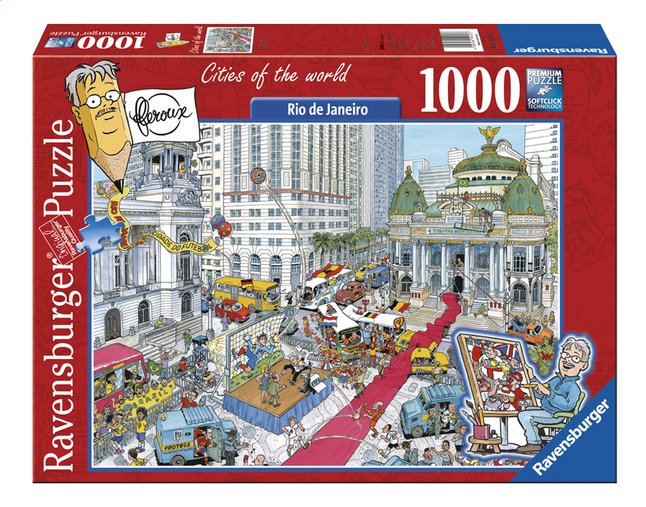 Image pour Ravensburger puzzle Fleroux Rio de Janeiro à partir de ColliShop