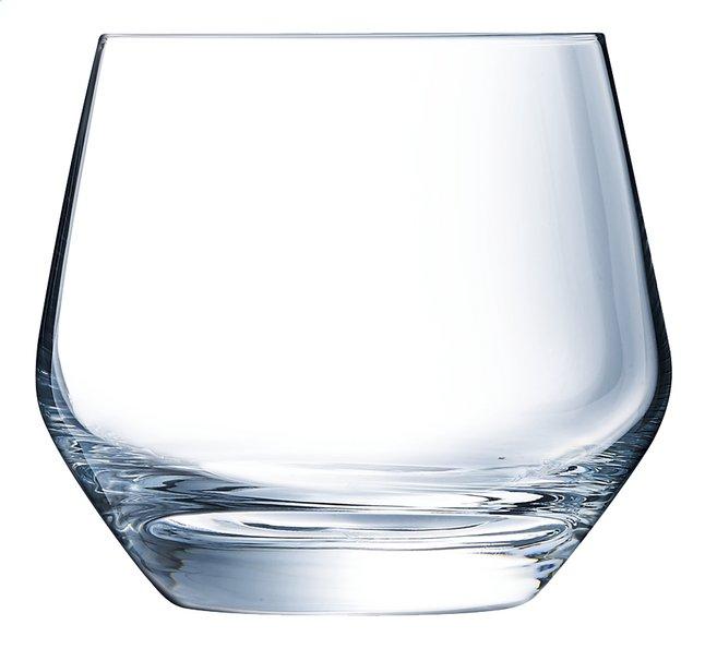 Eclat Cristal d'Arques Paris 6 verres à eau Ultime 35 cl