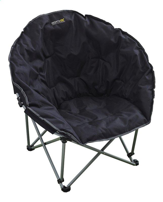 Image pour Regatta Chaise pliante Castillo noir à partir de ColliShop