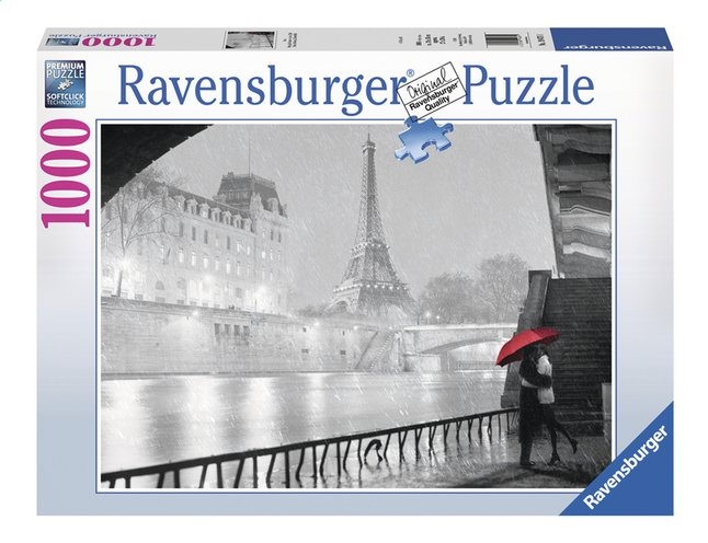 Image pour Ravensburger puzzle Paris sous la pluie à partir de ColliShop