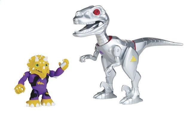 Image pour Les Tortues Ninja Half Shell-Heroes robo Raptor & Triceraton à partir de ColliShop