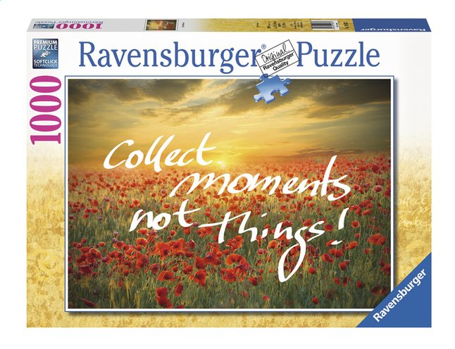 Afbeelding van Ravensburger puzzel Collect moments not Things! from ColliShop