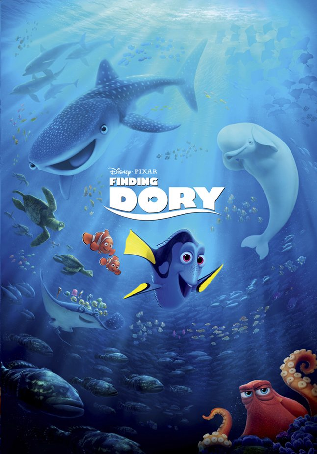 Afbeelding van Dvd Disney Finding Dory from ColliShop