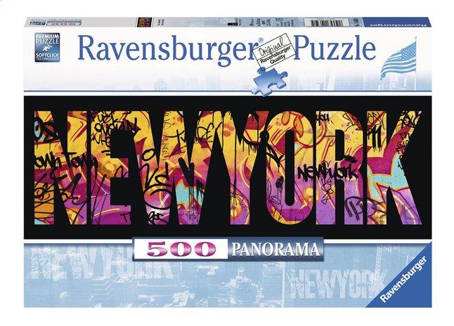 Afbeelding van Ravensburger panoramapuzzel New York Graffiti from ColliShop