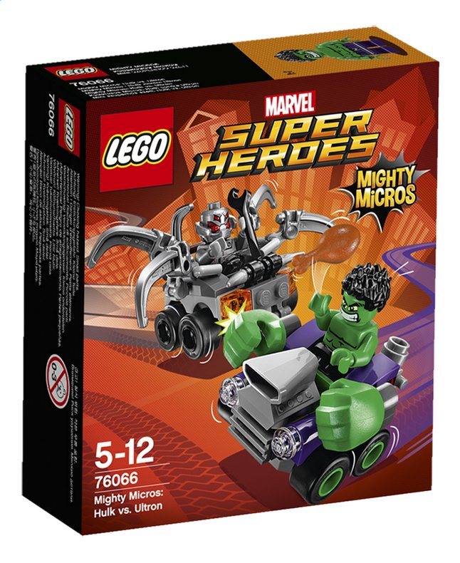 Image pour LEGO Super Heroes 76066 Mighty Micros: Hulk vs. Ultron à partir de ColliShop