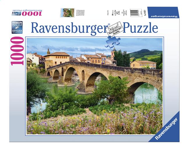Image pour Ravensburger puzzle Puente la Reina, Espagne à partir de ColliShop