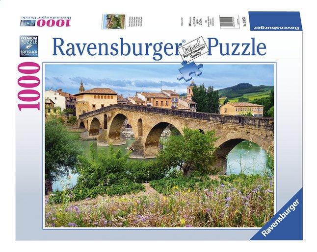 Afbeelding van Ravensburger puzzel Puente la Reina, Spanje from ColliShop