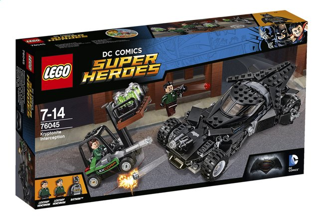 Image pour LEGO Super Heroes 76045 L'interception de la kryptonite à partir de ColliShop