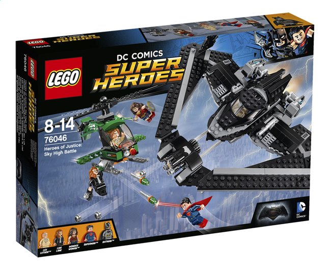 Afbeelding van LEGO Super Heroes 76046 Heroes of justice luchtduel from ColliShop
