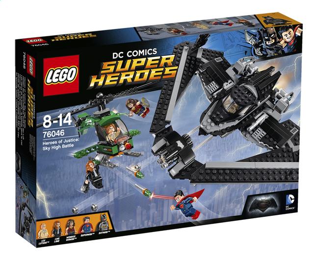 Image pour LEGO Super Heroes 76046 Les héros de la Justice : la bataille dans le ciel à partir de ColliShop