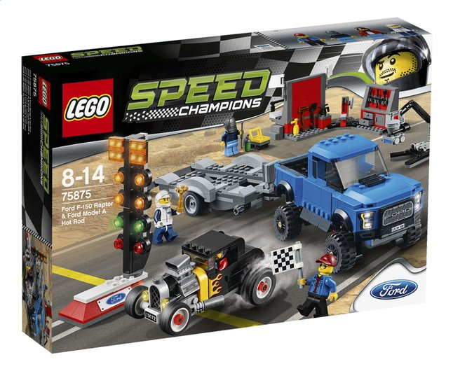 Afbeelding van LEGO Speed Champions 75875 Ford F-150 Raptor & Ford Model A Hot Rod from ColliShop